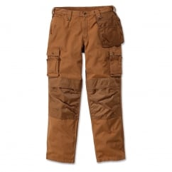 100233 Emea Multipocket Ripstop Pant Carhartt Brown - Inside Leg: 32