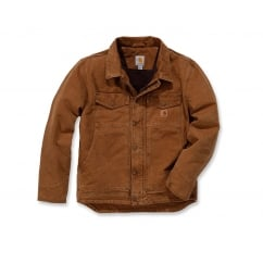 101230 Sandstone Berwick Jacket Carhartt Brown - Size: S *One Size Only - Outlet Store*