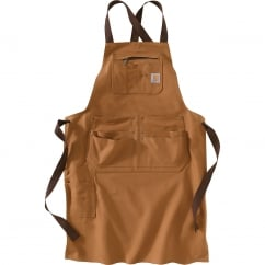 102483 Duck Apron Carhartt Brown *One Size Only - Outlet Store*