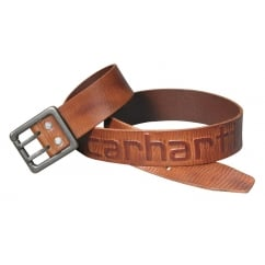 2217 Logo Belt Carhartt Brown - Size: 44