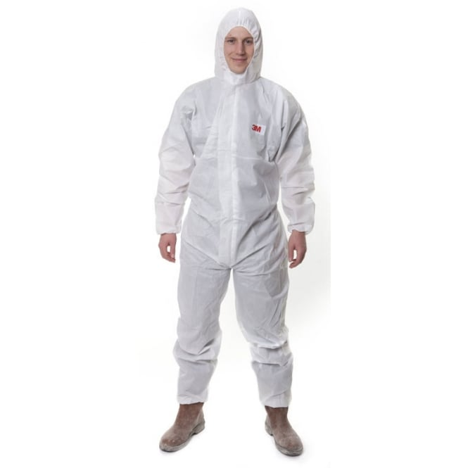 3M 4515 Type 5/6 Disposable Asbestos Dust Coverall Pack 20
