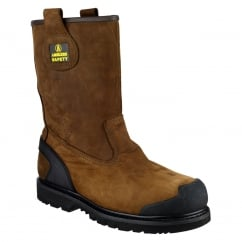 FS223 Goodyear Welted Waterproof Pull on Industrial Safety Boot