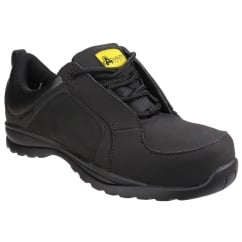 FS59C Metal Free Lace up Safety Trainer Black Size: 5 *One Size Only - Outlet Store*