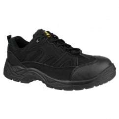 Safety 214 Black Trainer Shoe