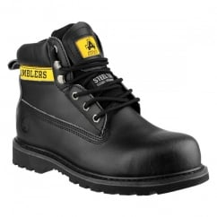 Safety 9 Black SB-P Lace Up Boots