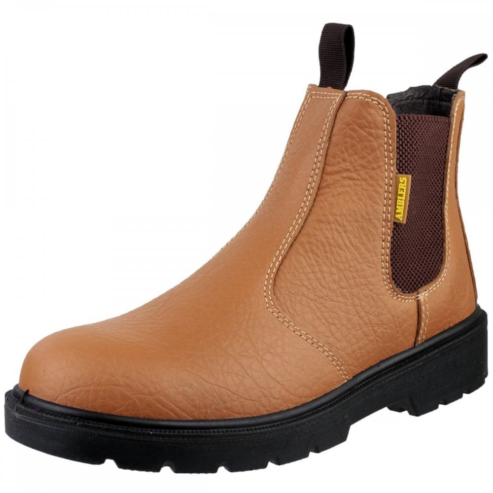 quality design 4389a dde75 Amblers Safety FS115 Dual Density Pull on Chelsea Safety Boot
