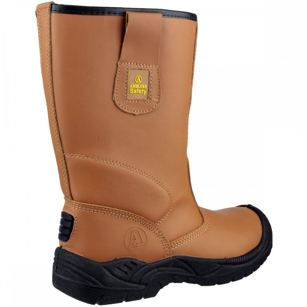 8b5e990c5ed FS142 Water Resistant Pull On Safety Rigger Boot