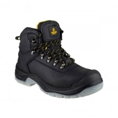 Safety FS199 (BLACK) Lace Up Boots