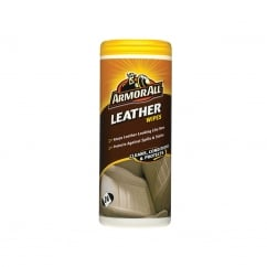 Leather Wipes Tub of 24