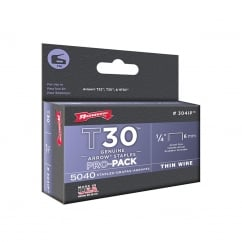 T30 Staples 304IP 6mm (1/4in) Box 5040