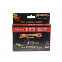 T72HW Insulated Staples 5mm x 12mm Box 300
