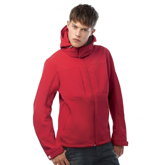 B&C JM950 Men's Hooded Softshell