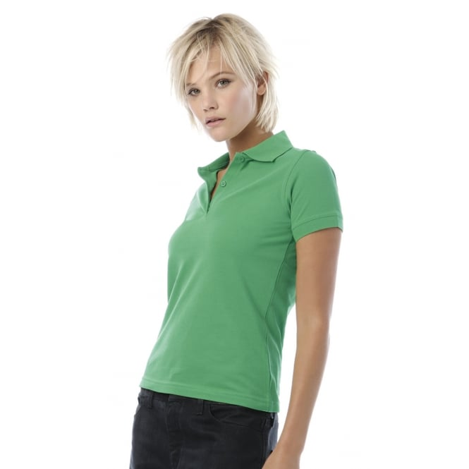 B&C PW455 Safran Pure Ladies' Short Sleeve Polo