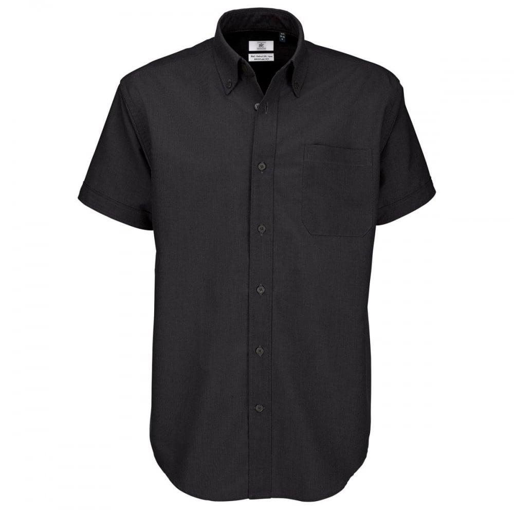 36f864c9b0db B&C SMO02 Men's Oxford Short Sleeve Shirt - Clothing from M.I. ...