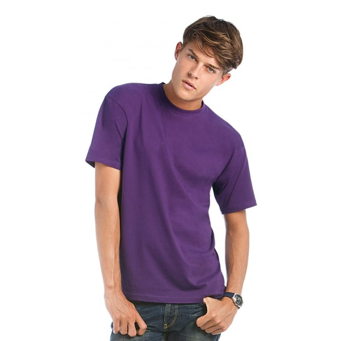 B&C TU004 Exact 190 Men's Crew Neck T-Shirt