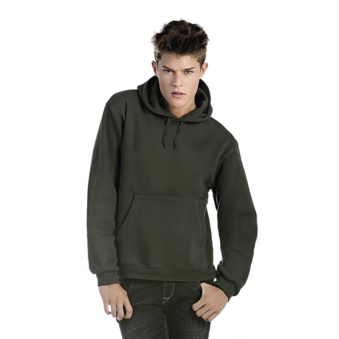 B&C WU620 Men's Hooded Sweatshirt