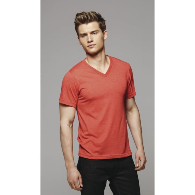 Bella CA3415 Triblend V-Neck tee