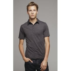 Bella CA3802 Jersey 5 Button Polo