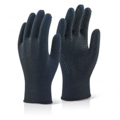 Thermolite Glove Dotted Blk Pack 10