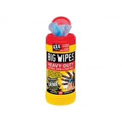 4x4 Heavy-Duty Cleaning Wipes Tub of 80