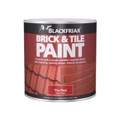 Brick & Tile Paint Matt Red 500ml