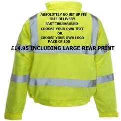 Hi-Vis Bomber Jacket Multi Bundle Pack 100