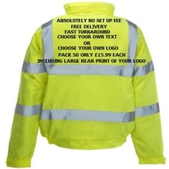 Hi-Vis Bomber Jacket Multi Bundle Pack 50