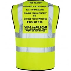 Hi-Vis Vest Multi Bundle Pack 100