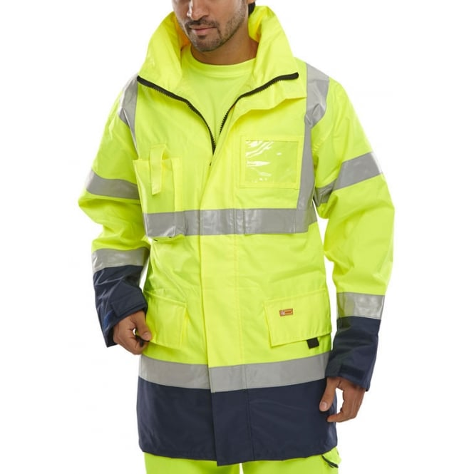BSeen Hi Visibility Breathable Waterproof Jacket