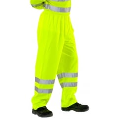 Super Hi Visibility Waterproof Breathable Overtrousers