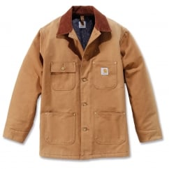C001 Chore Coat Carhartt Brown - Size: L *One Size Only - Outlet Store*