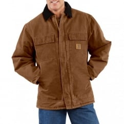 C26 Sandstone Traditional Coat Carhartt Brown - Size: 2XL *One Size Only - Outlet Store*