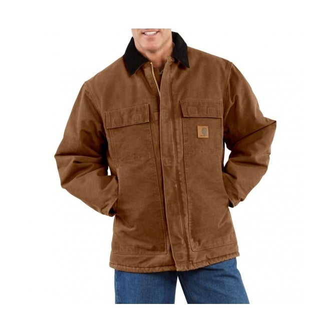 Carhartt C26 Sandstone Traditional Coat Brown - Size: 2XL *One Size Only - Outlet Store*