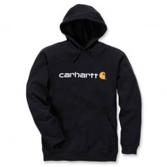 100074 Signature Logo Hooded Sweatshirt