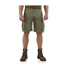 100277 Rugged Cargo Short Army Green - Size: 36