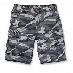 100279 Rugged Cargo Camo Short