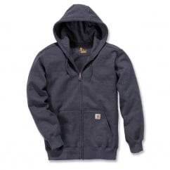 100614 Zip Hooded Sweatshirt Carbon Heather - Size: L *One Size Only - Outlet Store*