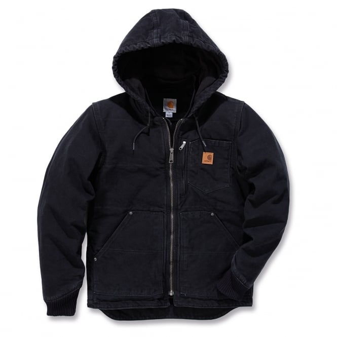 Carhartt 100729 Sandstone Chapman Jacket Black - Size: M *One Size Only - Outlet Store*