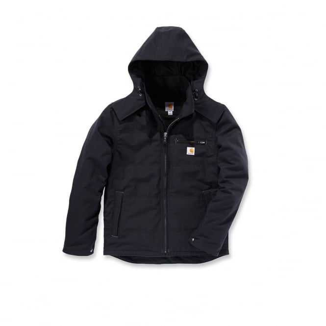 Carhartt 101441 Qd Livingston Jacket Black - Size: S *One Size Only - Outlet Store*