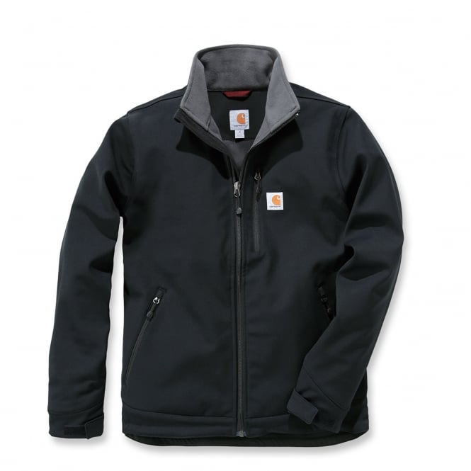 Carhartt 102199 Crowley Soft Shell Jacket Black XL *One Size Only - Outlet Store*