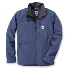 102233 Denwood Soft Shell Jacket Dark Blue L *One Size Only - Outlet Store*