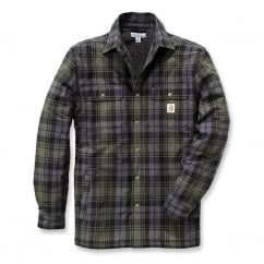 102333 Hubbard Shirt Jacket Moss L *One Size Only - Outlet Store*
