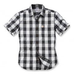 102548 Slim Fit Plaid Shirt S/S