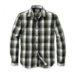 103190 Slim Fit Plaid Shirt Long Sleeve