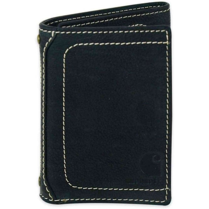 Carhartt 61-2200 Mens Leather Pebble Trifold Wallet