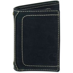 61-2200 Mens Leather Pebble Trifold Wallet
