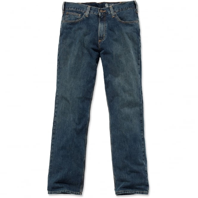 Carhartt B320 Relaxed Straight Jeans Weathered Blue Waist: 28