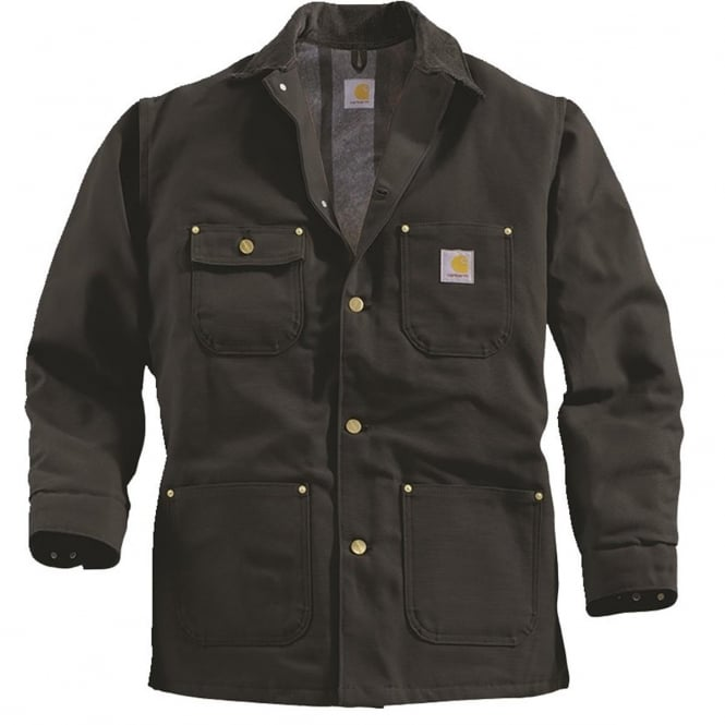 Carhartt C001 Chore Coat Black - Size: S *One Size Only - Outlet Store*