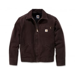 Ej196 Lightweight Detroit Jacket Dark Brown - Size: M *One Size Only - Outlet Store*