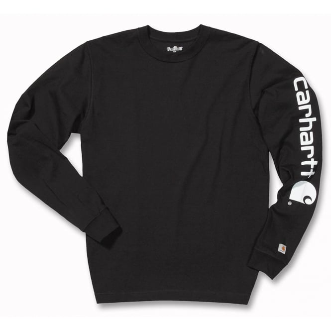 Carhartt Ek231 Sleeve Logo Long Sleeve T Shirt